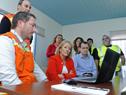 Ministra Carolina Cosse recorrió el Parque Industrial de Paysandú