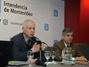 El ministro Jorge Basso junto al director ejecutivo del Instituto Nacional de Calidad, Gonzalo Blasina