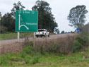 Ruta de acceso a Tranqueras, departamento de Rivera