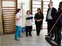 Presidente de ASSE, Marcos Carámbula, visita policlínica Giordano