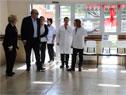 Presidente de ASSE, Marcos Carámbula, visita policlínica Sayago