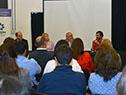 Andrés Tolosa, Carolina Cosse, Wilson Netto y  Miguel Venturiello encabezan acto de entrega de equipamiento a UTU