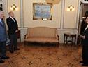 Vázquez recibe cartas credenciales del embajador de El Salvador, Edgar Palacios Bermúdez