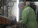 Internos en el polo industrial de Santiago Vázquez