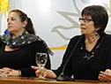 Laura Narbalte y Marina Arismendi
