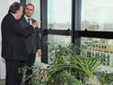 Prosecretario de Presidencia de la República, Juan Andrés Roballo, recibió a director ejecutivo de la Agencia Chilena de Cooperación, Juan Pablo Lira