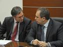 Martín Vallcorba y Pablo Ferreri