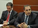 Subsecretario de Economía y Finanzas, Pablo Ferreri, haciendo uso de la palabra