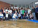 Alumnos del liceo Idea Vilariño