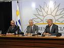 Juan Andrés Roballo, Jorge Basso y Miguel Ángel Toma
