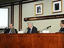 Ministro de Economía, Danilo Astori, en la Cámara Española