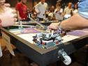 Participantes de la Olimpíada de Robótica