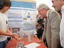 Presidente Tabaré Vázquez encabezó visita de autoridades a Olimpíada de Robótica