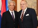 Presidente Tabaré Vázquez encabezó reunión con exalcalde de Nueva York, Rudolph Giuliani
