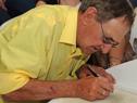 Acto de firma de escrituras de 49 viviendas de Mevir