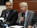 Subsecretario Pablo Fererri y Ministro de Economía, Danilo Astori