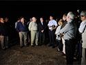 Ministerio de Defensa inauguró luces de pista del aeropuerto de Artigas para habilitar vuelos nocturnos
