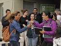 Acto de entrega de 96 viviendas en un barrio de Maldonado