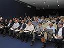 Nin Novoa participó en el lanzamiento del proyecto para la cuenca de la Laguna Merín