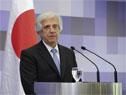 Actividades desarrolladas en torno a la recepción ofrecida por el presidente Tabaré Vázquez al primer ministro de Japón, Shinzo Abe