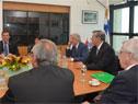 Presidente Tabaré Vázquez y representantes del Gobierno recibieron al ministro de Aduanas chino, Ni Yuefeng, acompañado por su comitiva oficial