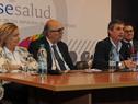 Eneida de León, Marcos Carámbula, Álvaro García y Giovanni Escalante