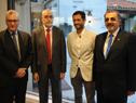 Autoridades de turismo de Uruguay, encabezadas por la ministra Liliam Kechichian, durante la recepción ofrecida a ministros de turismo del Mercosur