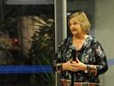 Ministra de Turismo, Liliam Kechician, haciendo uso de la palabra