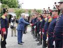 Presidente Tabaré Vázquez encabezó acto por 222.º aniversario del Regimiento de Blandengues de Artigas