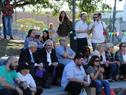 Actividad denominada Mesa para la Paz, en el marco de la conmemoración del 70.º aniversario de la Declaración Universal de los Derechos Humanos