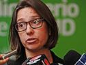 Directora de Epidemiologia, Lucía Alonso