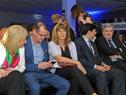 Ministra Carolina Cosse, junto a autoridades, en la entrega del Premio de Eficiencia Energética