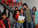Beneficiarios del Plan Juntos en barrio Cuatro Horizontes