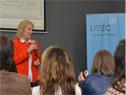 Ministra Carolina Cosse participó de la entrega de los primeros 30 diplomas de Técnico en Mantenimiento de Parques Eólicos otorgados por UTEC