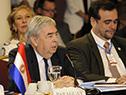 Cancilleres de Uruguay, Rodolfo Nin Novoa, y Argentina, Jorge Marcelo Faurie