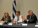 Andrea Vignolo, Álvaro García, Rodolfo Nin Novoa y Guillermo Moncecchi