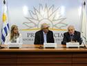 Rosario Berterretche, Marcos Carámbula y José Clastornik
