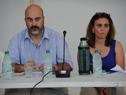 Director nacional de Medio Ambiente, Alejandro Nario, haciendo uso de la palabra