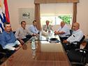 Tabaré Vázquez se reunió con representantes del Centro de Viticultores del Uruguay