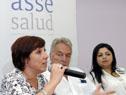 Presidenta de ASSE, Susana Muñiz hace uso de la palabra