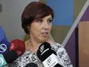 Presidenta de ASSE, Susana Muñiz dialoga con la prensa