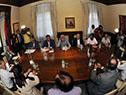 Encuentro entre Tabaré Vázquez y representantes de las gremiales rurales