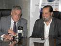 El director de la ONSC, Alberto Scavarelli y el presidente de la ANP, Alberto Díaz, se firmó un Convenio de Cooperación Interinstitucional