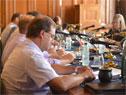 Subsecretario Pablo Ferreri y ministro Enzo Benech ante la Comisión de Ganadería de la Cámara de Senadores