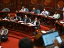 Pablo Ferreri y Gabriel Moncecchi en el Parlamento