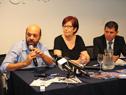 Julio Bango, Marina Arismendi y Eduardo Pereyra