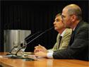 Director de OPP, Álvaro García, y prosecretario de Presidencia, Juan Andrés Roballo