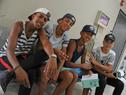 NIños en actividades del Club de Verano en Centro Cívico Luisa Cuesta