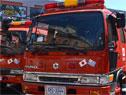 Vehículos recibidos por Bomberos