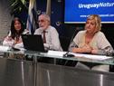 Benjamín Liberoff, Liliam Kechichian y Carlos Fagetti